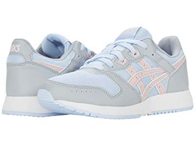 ASICS Kids Lyte Classic GS (Big Kid) (Soft Sky/Ginger Peach) Girl