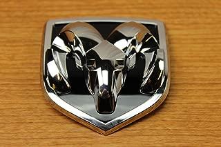 Black Dodge Ram 1500 2500 3500 Front /& Rear Ram Head Emblem Medallion Mopar OEM