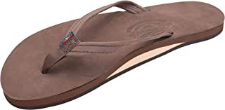 Women's Single Layer Premier Leather Narrow Strap, Expresso, Ladies Large / 7.5-8.5 B(M) US