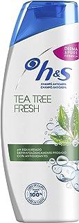 H&S Tea Tree Fresh Refrescante Anticaspa Champú 360ml
