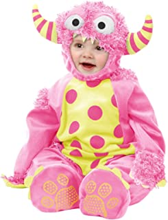 Charades Mini Monster Baby/Toddler Costume, Pink, Toddler