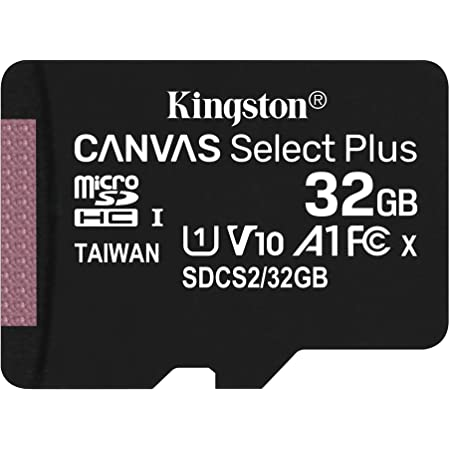 キングストン microSD 32GB 最大100MB/s UHS-I V10 A1 Nintendo Switch動作確認済 Canvas Select Plus SDCS2/32GB 永久保証