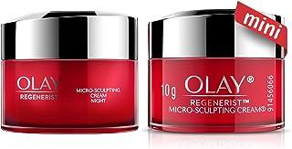 Olay Regenerist Micro-Sculpting Cream 15ml + Olay Night Cream: Regenerist Micro-sculpting Cream 15ml Dual Pack