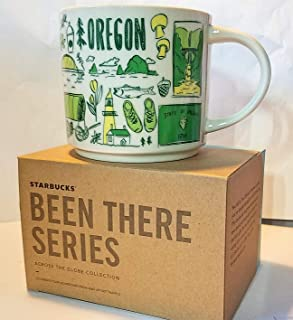 Starbucks Been There Across the Globe Series Mug 14 oz OREGON