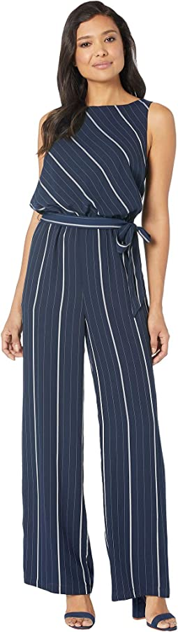 82859a7faff ... Wide Leg Jeans in Oasis Blue.  129.00. Classic Navy. 11. Vince Camuto.  Sleeveless Striped Sportswear Belted Jumpsuit