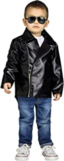 Fun World Toddler Rock 'N' Roll Jacket Costume, X-Large, Multicolor