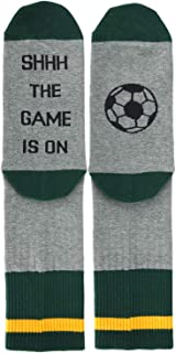 Men's If You Can Read This Funny Saying Beer Wine Coffee Taco Donut Crew Socks