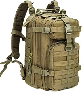 WolfWarriorX Small 30L Tactical Backpack Military Assault Pack Rucksack Molle Bag
