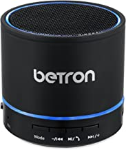 Betron KBS08 Wireless Portable Travel Bluetooth Speaker Black