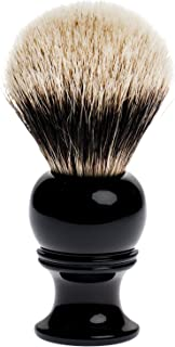 two band badger brush