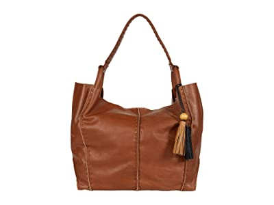 The Sak Los Feliz Leather Tote (Tobacco) Handbags