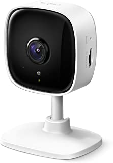 TP-Link Tapo Smart Home Security WiFi Camera, Records in 1080p (Full HD), Up to 30 ft Night Vision, Up to 128 GB microSD C...