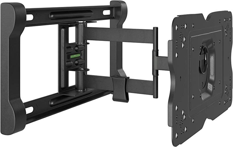 AmazonBasics Heavy Duty Full Motion Articulating TV Wall Mount For 32 Inch To 80 Inch LED LCD Flat Screen TVs