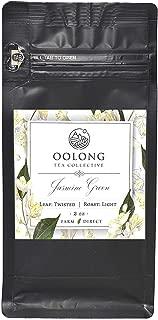 Jasmine Green Tea - 2019 Fresh Harvest - Natural Loose Leaf Tea - Hot/Iced Tea - No Additives - 100% Taiwan Farm Direct by Oolong Tea Collective (2oz)