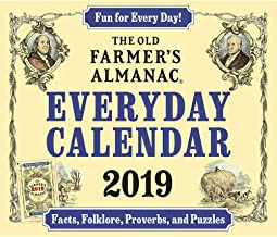 Farmer's Almanac Desk Calendar