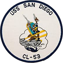 USS San Diego CL-53 Patch Full Color