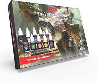 The Army Painter | Dungeons and Dragons Nolzur's Marvelous Pigments Adventurers Paint Set | 10 Acrilic Colours and 1 Start...
