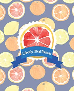 Weekly Meal Planner: Undated 1 Year / 53 Week Food Planner with Detachable Weekly Grocery Shopping Lists (Bee Well Meal Planners)