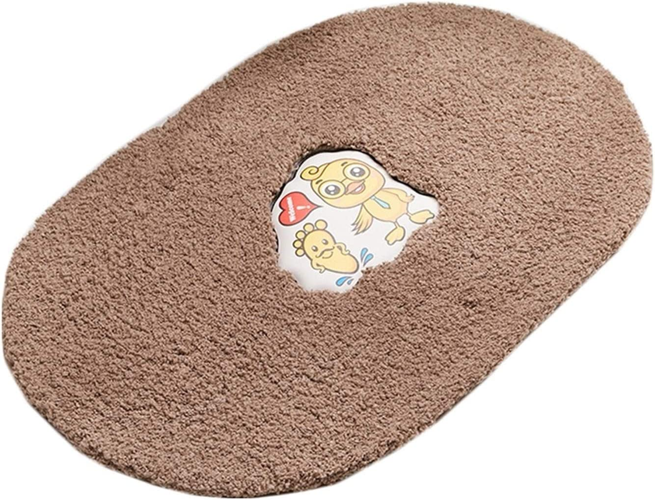 QIAOLI Don't miss the campaign Bath Mat Non Slip Bathroom Spring new work Ult Rug Absorbent