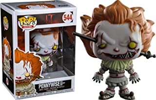 Funko Pop Movies: Pennywise with Wrought Iron Collectible Figure, Multicolor