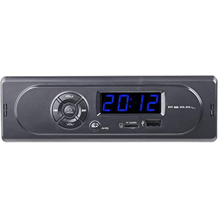 Pearl Radio Usb Mp3 Autoradio Cas 300 Mit Wiedergabe Elektronik