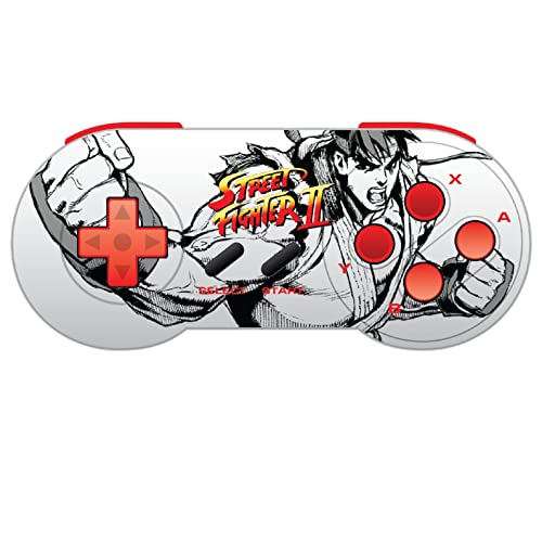 Retro-Bit Street Fighter SNES & USB Dual Link Controller for PC, Mac -