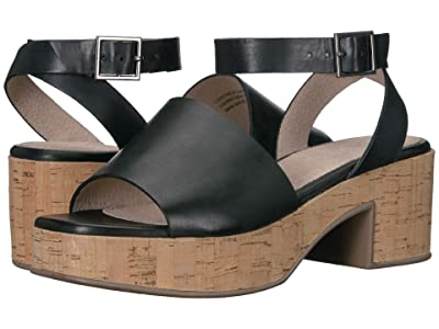 Seychelles Calming Influence (Black Suede/Cork) Women