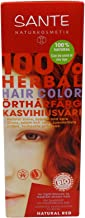 Sante - Herbal Hair Color - Natural Red - Free from peroxides & Ammonia - Free from Synthetic Colors - Vegan