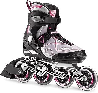 Bladerunner by Rollerblade Formula 90 Women's Adult Fitness Inline Skate, Black and Purple, Inline Skates