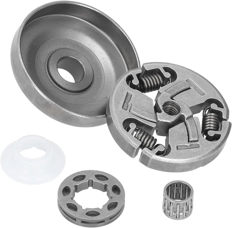 Cadena para tambor de embrague, material de acero de aleación, tratamiento térmico de enfriamiento a alta temperatura, para motosierra 355 359 357 Xp 357 Epa.