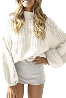 pipigo Women Casual O-Neck Hollow Pullover Oversized Knitted T-Shirt Top Tee