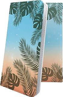 ケース Spray 402LG 互換 手帳型 南国 ハワイアン ハワイ 夏 海 スプレー 手帳型ケース ペイズリー ペイズリー柄 Spray402LG おしゃれ 6UP17967SdV
