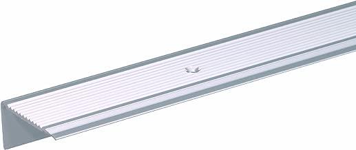 Treppenwinkel 10 x 25 x 800 mm silber selbstklebend Treppen-Kantenprofil Stufen-Profil Alu-Winkel-Profil Kantenschutzwinkel Profilwinkel Treppe 4,99/€//m 800 mm selbstklebend, silber