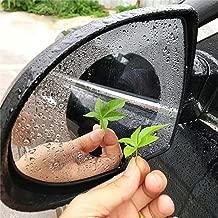 SHL Car Rearview Mirror Film, Anti-Fog/Anti-Glare/Anti-Scratch/Waterproof/Rainproof Universal Car Rear View Mirror Window Clear Protective Nano Film