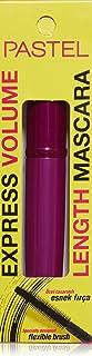 Pastel Express Volume Length Mascara, Black, Real Black, 7