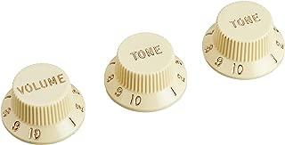 Fender Knobs One Volume, Two Tone, Vintaged