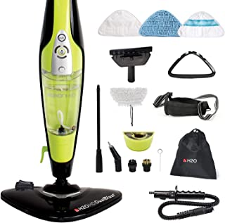 H2O HD 5 in 1 All Purpose Hand Held Cleaner for Home Use Complete with 8 Piece Cleaning Kit (14 Piece Cleaning Accessory Kit)