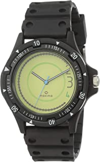 Maxima Analog Yellow Dial Men's Watch - 26511PPGN