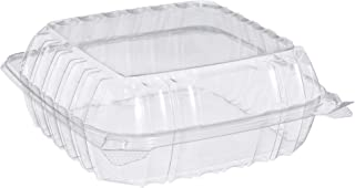 Dart C90PST1 OPS Med Clear Hinged Container, 8.3 X 8.3 in (Case of 250)