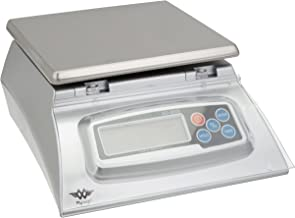 Kitchen Scale – Bakers Math Kitchen Scale – KD8000 Scale by My Weight, Silver