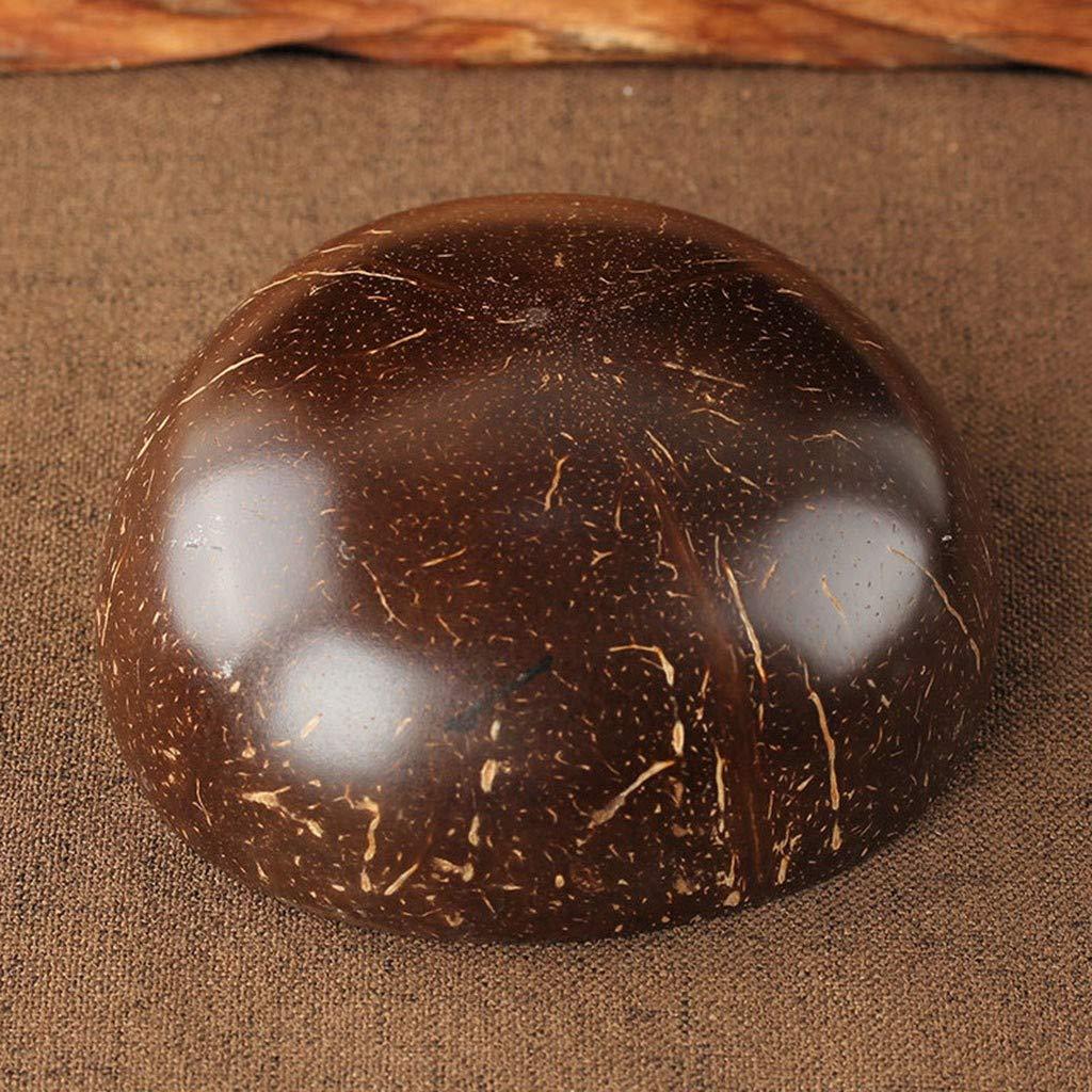 Tazón de coco ToDIDAF, cuenco de almacenamiento de coco natural ...