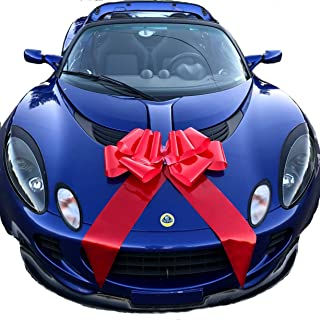 """Giant 23"""" Red Car Bow, Gift, House, Graduation, Happy Birthday, Bicycle 