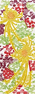 ノーブランド品 Japanese Chrysanthemum TENUGUI, Japanese Traditional Multi Cotton Towel. Made in Japan. Kitchen and Daily Various ...