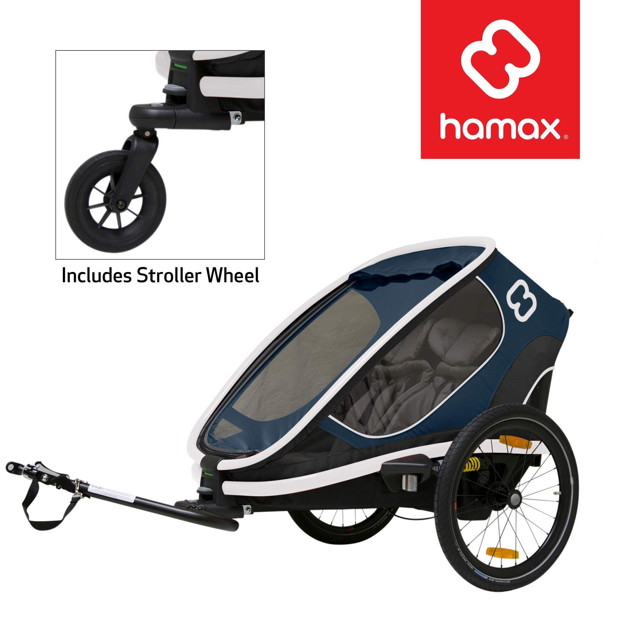 Hamax Outback Multi-Sport Child Bike Trailer + Stroller