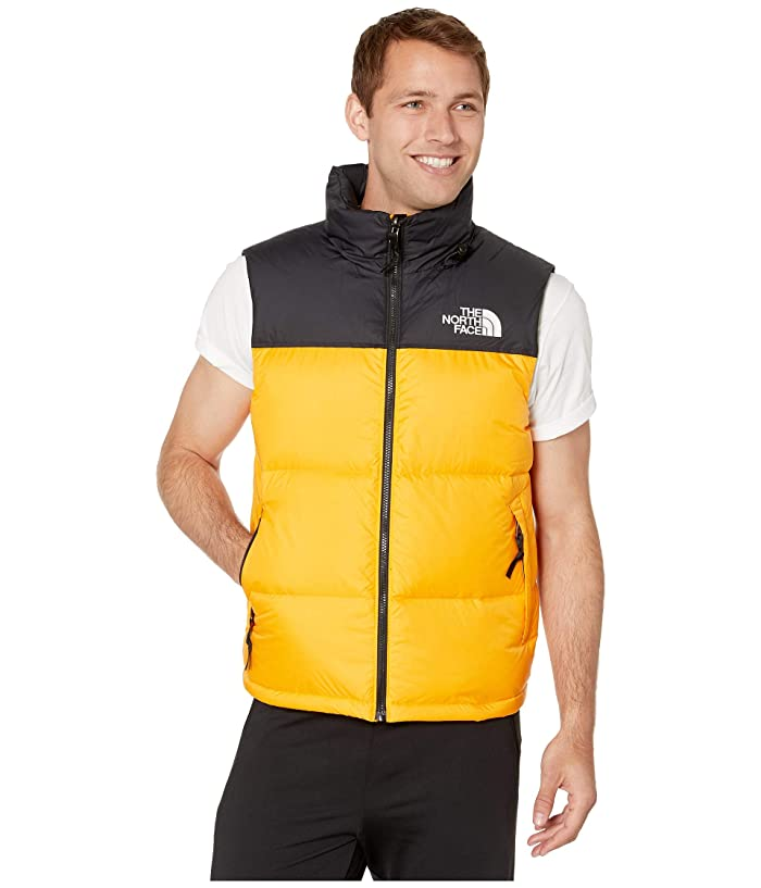 The North Face  1996 Retro Nuptse Vest (Zinnia Orange) Mens Vest