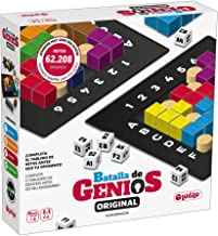 Lúdilo- Batalla de Genios 3D, Mesa, Rompecabezas Madera, educativos, Juegos Inteligencia niños, Puzzles, Color Negro (The Happy 80800)