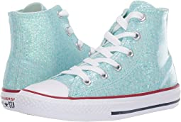 719fdaea13b1bb Teal Tint Enamel Red White. 135. Converse Kids. Chuck Taylor All Star  Sparkle ...