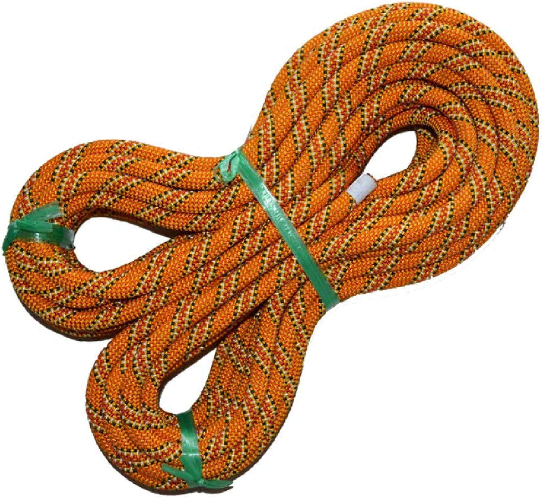 ZAIYI-Climbing rope Outdoor-Sicherheits-Rettungsseil, Rutschfest Und Abriebfest 11mm,Gelb-11mm10m B07NVK9SV6    Bestellungen sind willkommen a6ad53