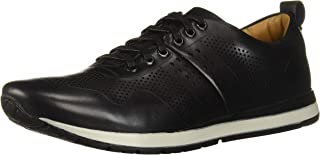 Driver Club USA Men's Leather Fashion Trainer Perf Detail Sneaker Oxford
