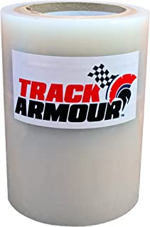TRACK ARMOUR TA6X100-6'' x 100' - Temporary Track Day Paint Protection Clear Adhesive Film for Car